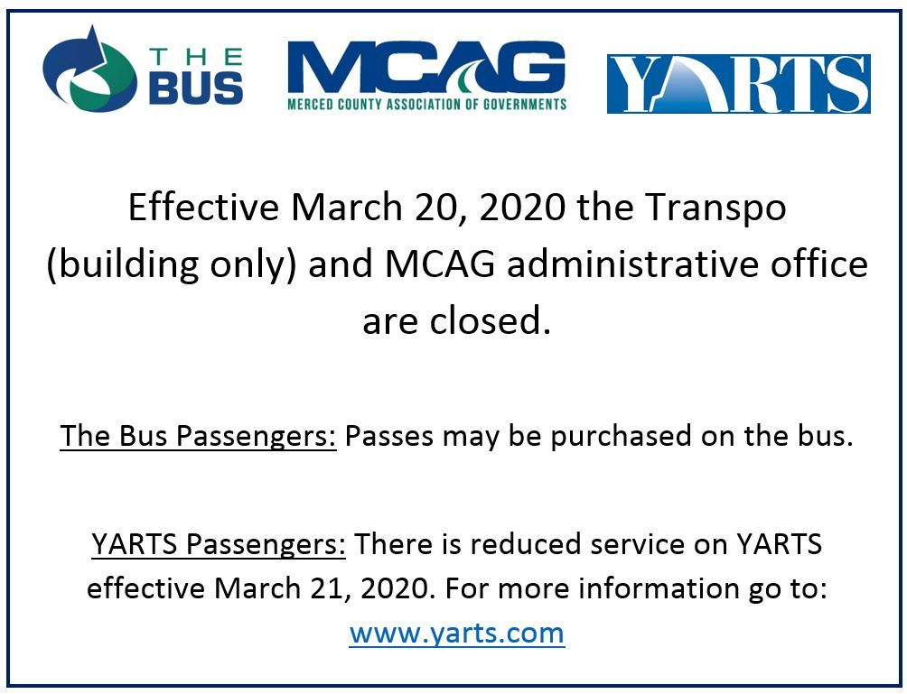 MCAG and Transpo closed
